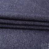 모직 /Polyester /Vicose /Cotton 깊은 파랑에 있는 혼합 모직 직물