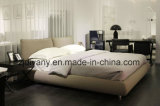 حديثة أسلوب غرفة نوم أثاث لازم جلد خشبيّة [دووبل بد] ([أ-ب42])