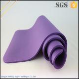Aduana gruesa adicional antirresbaladiza impresa alrededor de la estera de la yoga