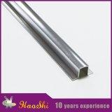 Guarnição de alumínio de prata Polished contínua da telha para o afastamento do assoalho