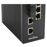 10 portas com 2 Gigabit SFP Industrial Ethernet Network Switch