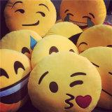 Bescheinigung En71 Emoji Kissen-Plüsch angefülltes weiches Spielzeug für Kinder