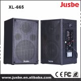Jusbe XL-665 60watts / 4ohm Alta qualidade HiFi Clear Sound Home Theater Multimídia 2.0 Active Power Speaker com preço barato