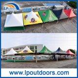 tienda de aluminio al aire libre de la tapa del resorte del alto pico del marco de los 6X6m para las ventas del acontecimiento
