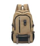 Мешок студента колледжа стародедовского прилива способа Backpack перемещения мешка плеча людей большой емкости холстины мыжской