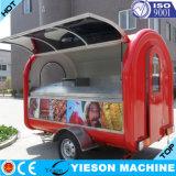 Carrello dello spuntino, rimorchio del carrello dell'alimento e cabina mobile della cucina del rimorchio dell'alimento
