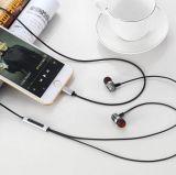 Écouteur stéréo de haute fidélité de musique portative d'écouteurs pour l'iPhone