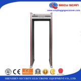 Tener en la caminata común a través de la puerta del detector de metales de la arcada del detector de metales AT-IIID con el certificado de CE&ISO