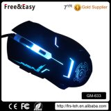 Dpi 2400 Botones laterales 6D Backlight Gamer Mouse