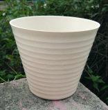 Nuevo crisol de flor de bambú de la fibra de la decoración del hogar y del jardín del diseño (BC-SF1016)