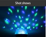 Magischer LED-Effekt beleuchtet musikalisches Karaoke-Kristallkugel