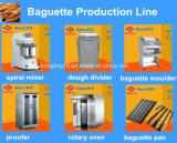 Профессиональная французская производственная линия оборудование хлеба багета хлебопекарни полного комплекта