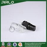 lo spruzzo di vetro trasparente del nero di uso dell'olio essenziale 5ml imbottiglia le bottiglie liquide cosmetiche vuote dell'imballaggio