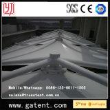 Tienda permanente de la tapa de la azotea de la estructura de acero para la terraza