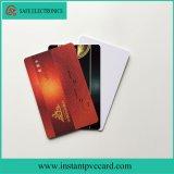 Cartão Printable do PVC da identificação do instante de ambos os lados