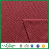 Tela polar de confeção de malhas do velo da grade estratificada da tela para o vestuário