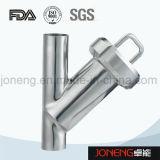 Тип зажатый нержавеющей сталью y гигиенический фильтр (JN-ST2003)