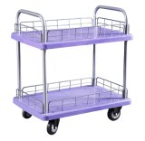 Double Layers Plastic Hand Truck, Trolley