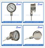 Todo el termómetro del acero inoxidable - termómetro bimetálico inferior - termómetro industrial