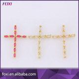 熱く粋な半宝石の宝石類の宝石用原石の十字のペンダント