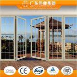 Portes de pliage en aluminium, procurables dans diverses couleurs d'usine d'aluminium de Guangdong Weiye