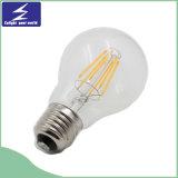 Bulbo de vidro do filamento do diodo emissor de luz de Dimmable Edison
