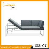 Sitzen-Raum-Hotel-Möbel-aus Weiden geflochtenes im Freien Garten-Stuhl-justierbares Rattan-Sofa-Set