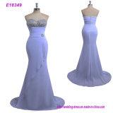 Robe de toile d'enveloppe du MIDI de robe de soirée de femmes de tissu d'arrivée neuve