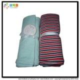 Kundenspezifische Größen-Baby-Abnützung-Streifen-Drucken-Baby-Zudecke