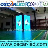 Muestra echada a un lado doble al aire libre de la visualización de LED de la venta caliente SMD P8 para el anuncio