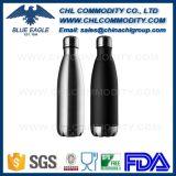 Venta al por mayor de alta calidad de la botella de agua de acero inoxidable para la Promoción
