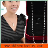 Collar del labio de las mujeres de moda del acero inoxidable de la joyería de Shineme (SSNL2639)