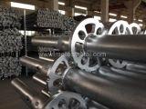 Standard galvanizzato dell'impalcatura del sistema della serratura dell'anello del TUFFO caldo (VERTICALE)