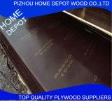 o preto grosso de 18mm/película de Brown enfrentou a madeira compensada impermeável da construção/a madeira compensada enfrentada película/preços Shuttering da folha da madeira compensada