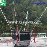 Trampolino dell'ammortizzatore ausiliario del parco di divertimenti, 4 in 1 trampolino dell'ammortizzatore ausiliario (BJ-BU01)