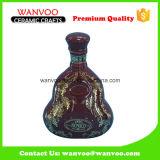 Botella de consumición de cerámica vacía al por mayor de la botella de vino de la botella del licor para Tequlia