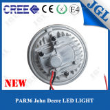 John Deereのための極度の明るい18W LEDの自動車運転作業ライト