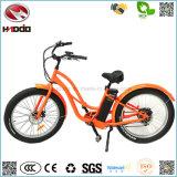 شاطئ أسلوب [500و] إطار العجلة سمين [موس] كهربائيّة درّاجة [ثروتّل كنترول] درّاجة [لكد] عرض [إ-بيك] مع دوّاسة