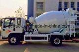 小さいコンクリートミキサー車のトラック、3-4 CBMの小さい具体的なミキサーのトラック