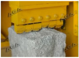 Macchina di schiacciamento di pietra idraulica per la pietra per lastricati del granito/marmo di taglio