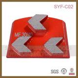 Спеченный диск диаманта скрепления металла меля для конкретного пола