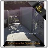 Dekoratives Aluminiumzaun-Gatter