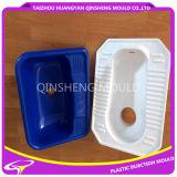 De plastic Eenvoudige Tijdelijke Hurkende Vorm van het Deel van het Toilet