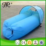 怠惰な空気寝袋インフレータブルバナナソファベッド
