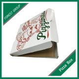Venta caliente corrugado caja de pizza con Siza personalizada