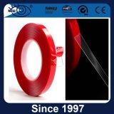 Cinta roja de acrílico a prueba de calor de Vhb del claro del trazador de líneas de la adherencia fuerte