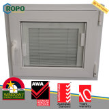 PVC australien de norme double Windows glacé et portes pour la Chambre