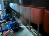 Línea ULTRAVIOLETA intercambiada color por cinta transportadora de la pintura a pistola del eje de rotación