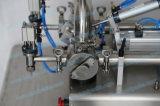 충전물 기계 (FLC-250S)가 자동 장전식 2개의 분사구에 의하여 거품이 인다