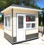Casa ligera transportada y salvada fácil del centinela de las estructuras de acero